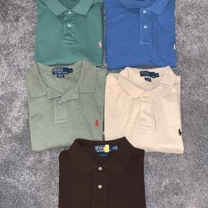LOT of Men's Ralph Lauren Polo Shirts